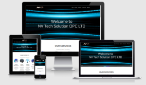 NV Tech Solution website
