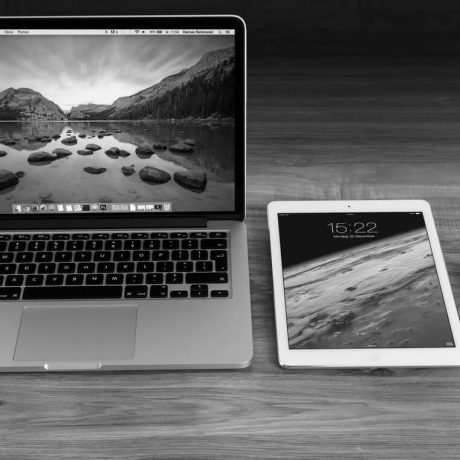 Laptop, tablet and mobile responsive design
